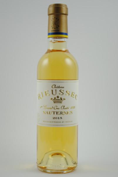 2015 Château Rieussec 1er Grand Cru Classé HALBE